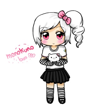 Monokuro boo, por Nowa
