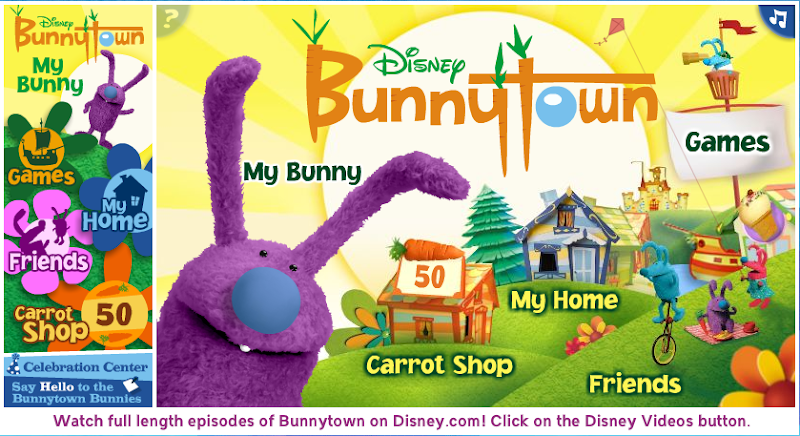 bunnytown coloring pages - photo#22