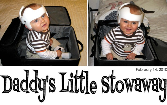 Daddy's Little Stowaway - 02.14.10