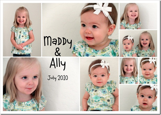 Maddy & Ally - July 2010