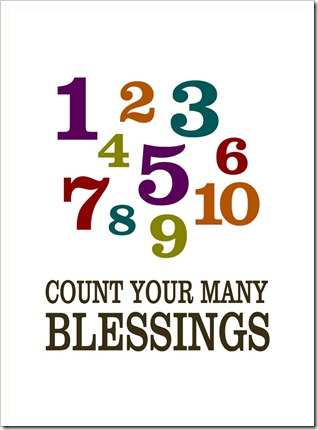 Count Your Many Blessings - Sprik Space