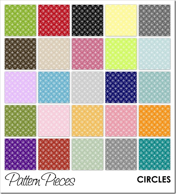 IMAGE - Pattern Pieces - Circles