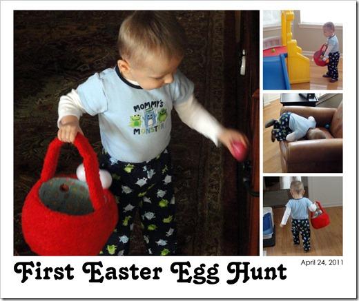 First Easter Egg Hunt - April 24, 2011