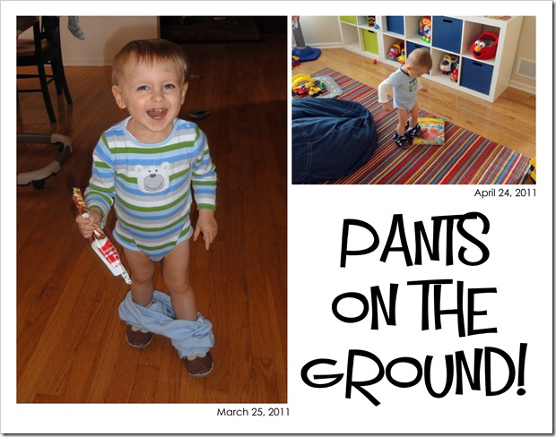 Pants on the ground! - March & April 2011