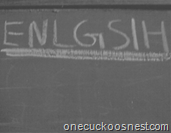 Enlgsih english misspell image