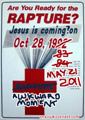 Rapture time!