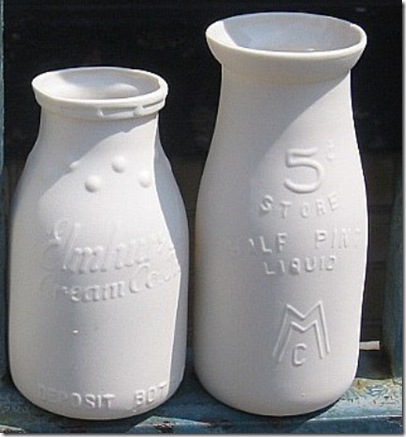 AntiqueReplicaMilkbottles