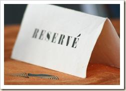 reservee