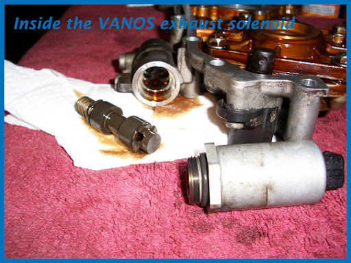 P0015 p0014 codes intake cam sensor vanos solenoid or vanos a write up is not a write up without pictures so here you go sciox Choice Image