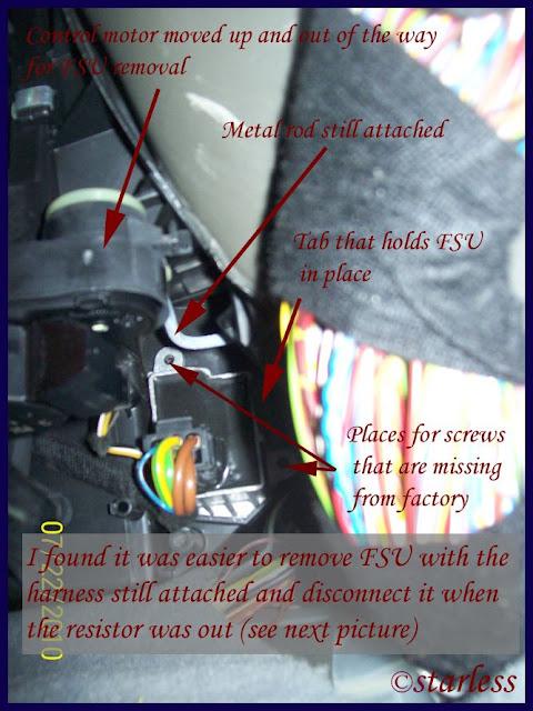 Fantastic Diy Fsu Aka Blower Motor Resistor Replacement Pictorial Guide Wiring Cloud Hisredienstapotheekhoekschewaardnl