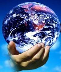 mundo na mão