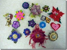 button-brooches