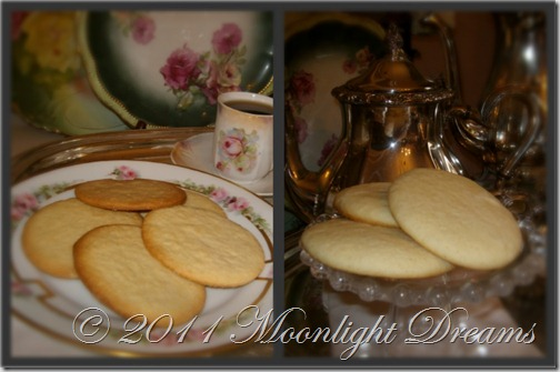 tea cake collage