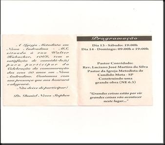 Convite Niver Nova Andradina Interno
