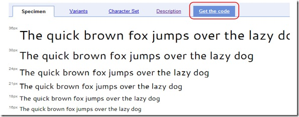 Google-fonts