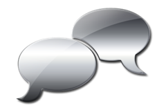 glossy-silver-comment-bubble-icon