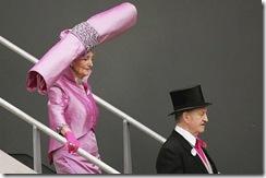Chapéu de rolo rosa