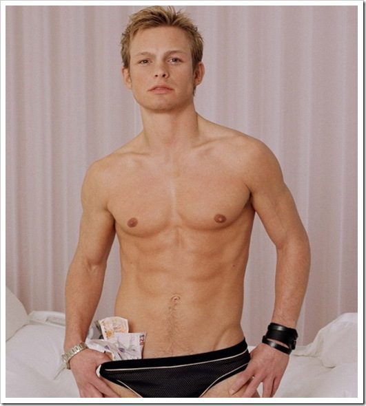 Adam Rickitt shirtless  hot