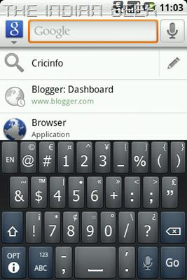 Swype - SYM keyboard layout