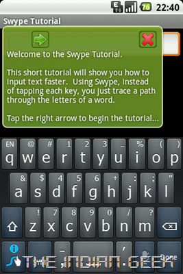 Swype Tutorial