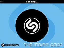 Shazam - Sending