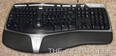 microsoft natural ergonomic keyboard 4000 user manual