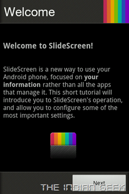 Slidescreen Setup 01 - Welcome