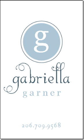 gabriella book bag tag