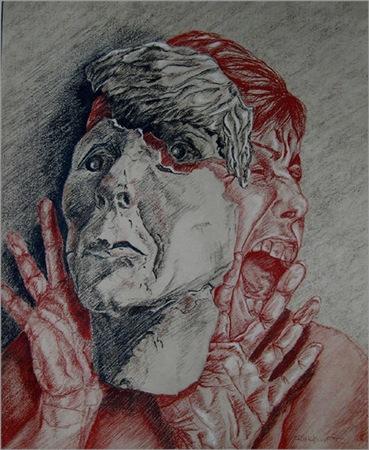 Self Portrait by Ruth Kristoff