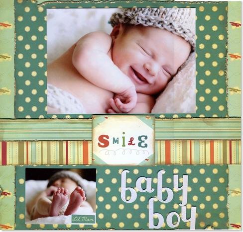 Smile Baby Boy