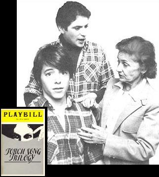 Torch Song was basically a collection of three one-act plays about the gay ...