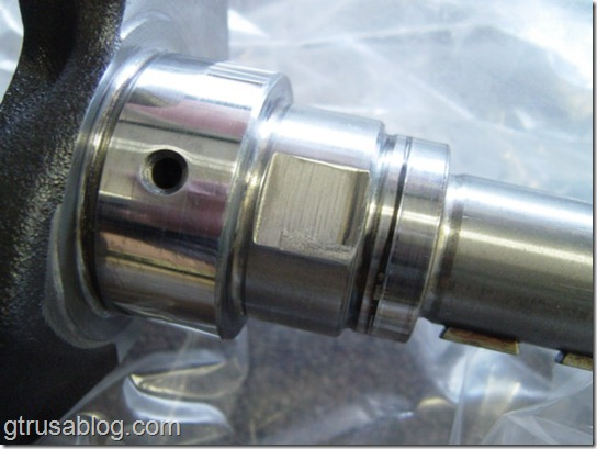 Late oil pump drive RB