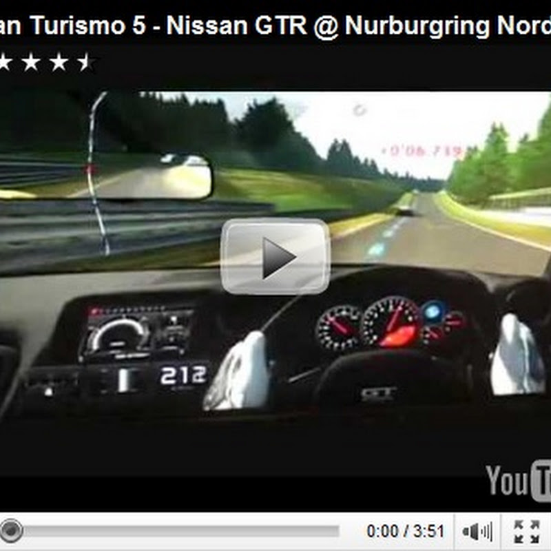 Nissan GT-R's at Nurburgring