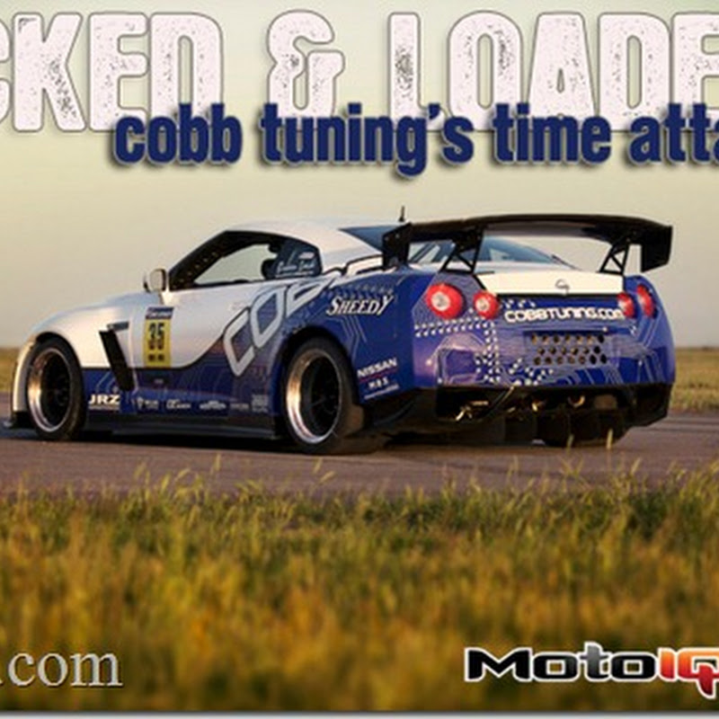Technical Overview from MotoIQ : Cobb Tuning Time Attack GT-R