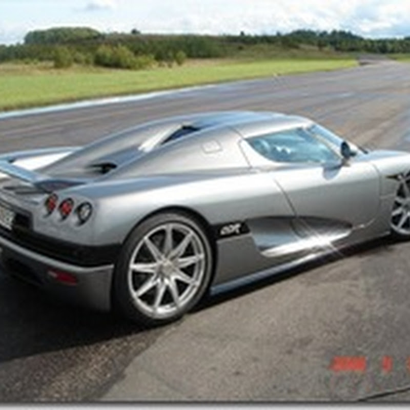 GT-R Gets Smoked By Koenigsegg CCR Evolution