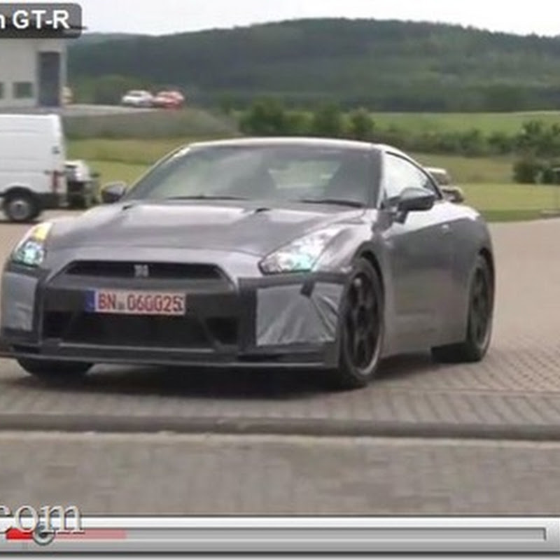 SpecM Nissan GT-R at Nurburgring