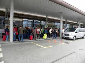 Ponovno srečanje na letališču Brnik