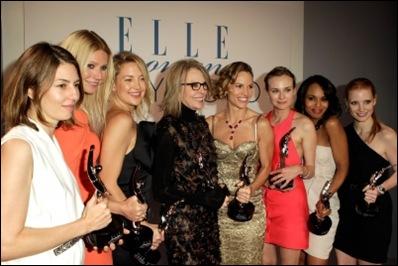 Elle Women in Hollywood 2010