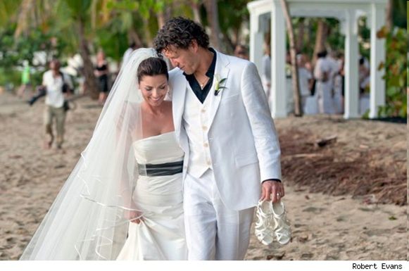 Shania Twain wedding