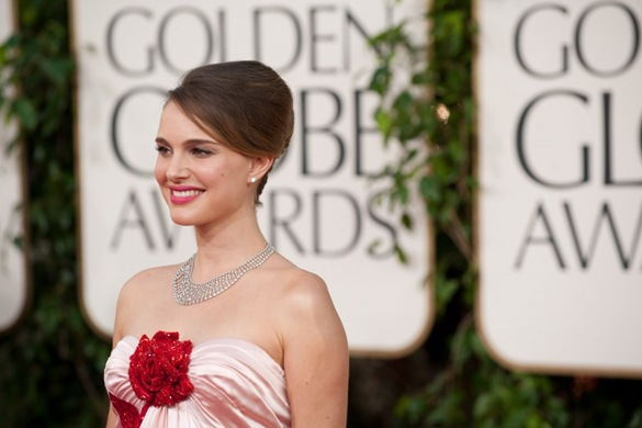 Natalie Portman at Golden Globe