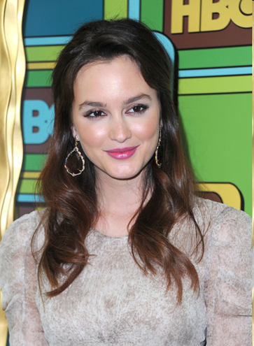Leighton Meester at the 68th Golden Globe Awards