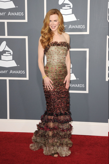 Nicole Kidman at Grammy 2011
