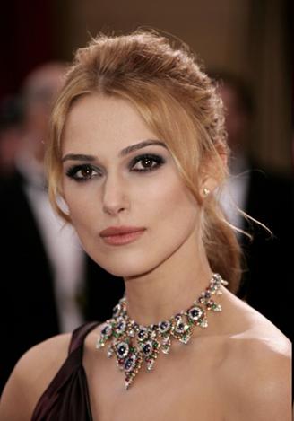 Oscar Jewelry - Keira Knightley