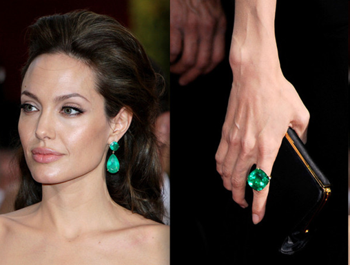 Oscar Jewelry Top 10 - Angelina Jolie