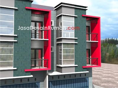 konsep ruko minimalis @ jasa desain rumah