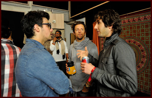 Jonas Brothers grabando WE ARE THE WORLD [Fotos!] Wearetheworld011