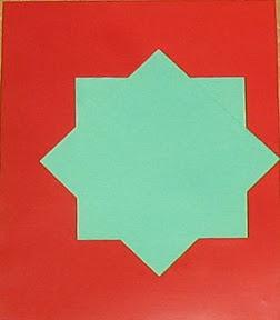 Пасхальная открытка с бантиком