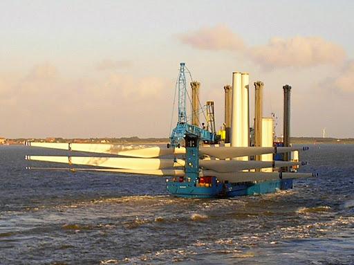 leaving port of Esbjerg