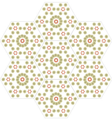 apple pattern quilt