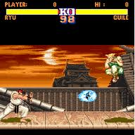 Jogo Street Fighter II para celular